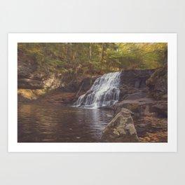 Wadsworth Falls Art Print