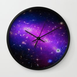 Cosmic Kaleidoscope  Wall Clock