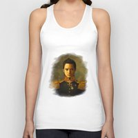 replaceface Tank Tops featuring Elijah Wood - replaceface by replaceface