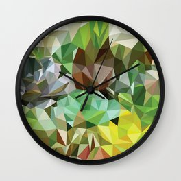 VerdesSuculentas Wall Clock