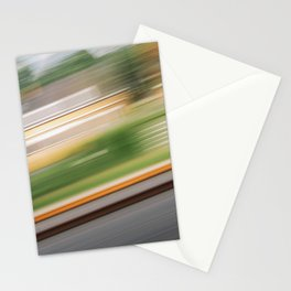 Moving Lines Stationery Cards