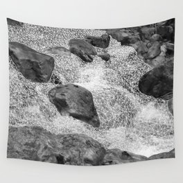 geometric waterfall Wall Tapestry