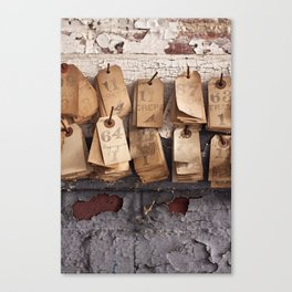 crepes. Canvas Print