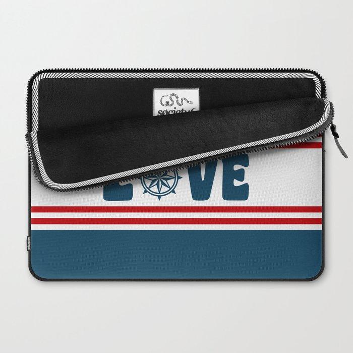 Love compass Laptop Sleeve