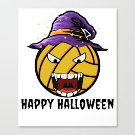 Happy Halloween Water Polo Canvas Print