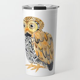 Harvest Owl Travel Mug