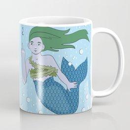 Angsty Mermaid Coffee Mug