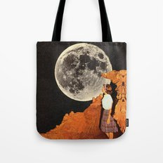 Hey Moon  Tote Bag