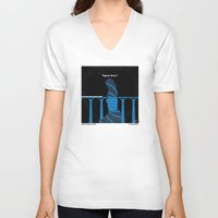 skyfall V-neck T-shirts featuring No277-007-2 My Skyfall minimal movie poster by Chungkong