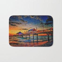 Pier 60, Clearwater Beach Bath Mat