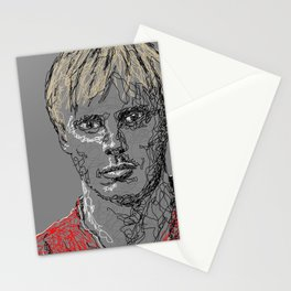 Arthur Pendragon Scribble Portrait Stationery Cards