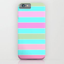 Leela 2 . turquoise iPhone Case