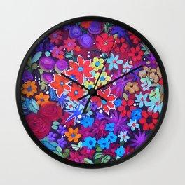 Colour Lush Wall Clock