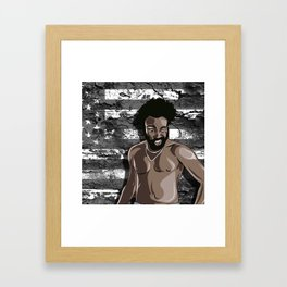 This Is America Framed Art Print