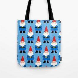 Gnome Repeat in Blue Tote Bag