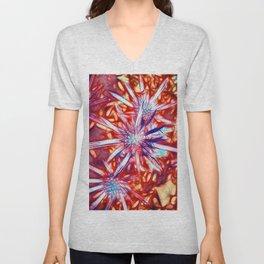 Star Bright in Red Unisex V-Neck