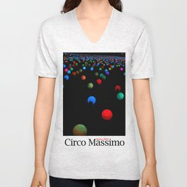 lights - Circo Massimo - Notte Bianca Unisex V-Neck