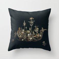 FATHER SHIP Throw Pillow