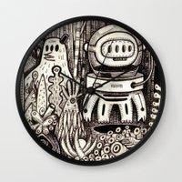 la Wall Clocks featuring OGM GARDEN - La visite by Exit Man