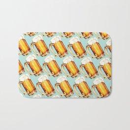 Beer Pattern Bath Mat