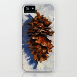 Winter Pine iPhone Case