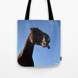 Tongues out Tote Bag