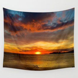 Hawaii Sunset Wall Tapestry