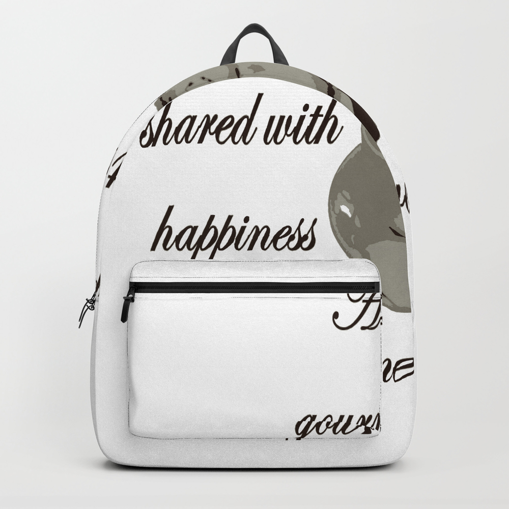A Cup Of Gourmet Coffee Shared With A Friend Backpack by Taiche BKP7824447
