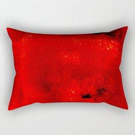 Red Coral Rectangular Pillow