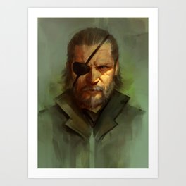 Big Boss Variant Art Print