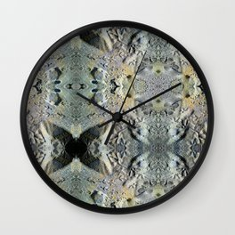 Two lob sect. Wall Clock