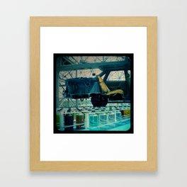 Bio Car Framed Art Print