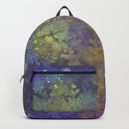 Abstract Watercolor #3 Backpack