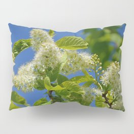 Mayday Tree in Bloom Pillow Sham