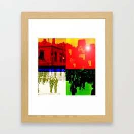 Unity Divided Framed Art Print