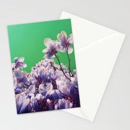 odd purple blue Stationery Cards