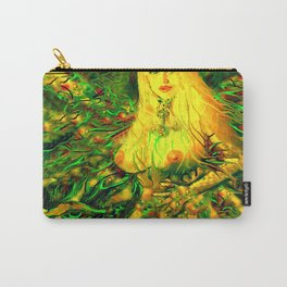 Art nude fairy wood nymph ladykashmir  Carry-All Pouch