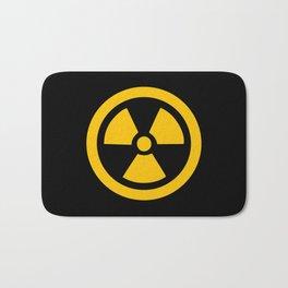 Yellow Radioactive Bath Mat