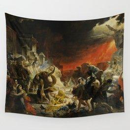 Karl Briullov - Last Day of Pompeii Wall Tapestry
