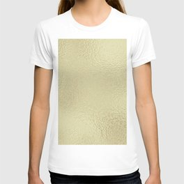 Simply Metallic in White Gold T-shirt