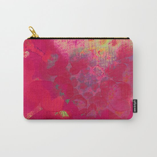 big abstract flower Carry-All Pouch