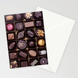 Chocolate Box Stationery Cards