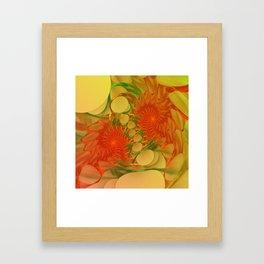 spider's work Framed Art Print