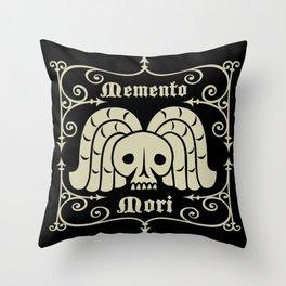 Rest In Peace-Memento Mori Throw Pillow