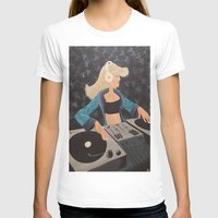 dj T-shirts featuring DJ Beats by McNallieGalleries