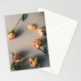 Dried Roses Are Beautiful Too Stationery Cards