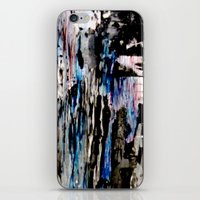 grunge iPhone & iPod Skins featuring Grunge by Paige Elizabeth
