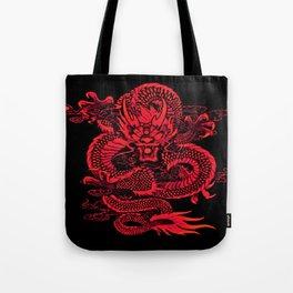 Epic Dragon Red Tote Bag