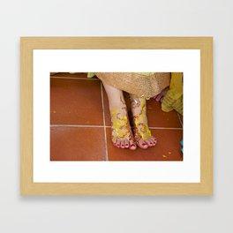 Mehndi Henna Before Wedding Framed Art Print