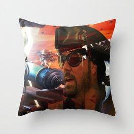 Sea Battle Memory Throw Pillow